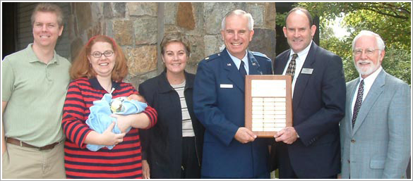 Air Force Chaplain Major Frederick S. McFarland ('71) was named Alumnus of the Year