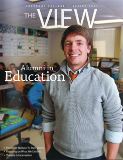 View magazine cover, Spring 2011 issue