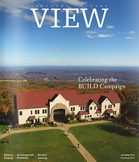 View magazine cover, Autumn 2013 issue