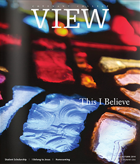View magazine cover, Autumn 2014 issue