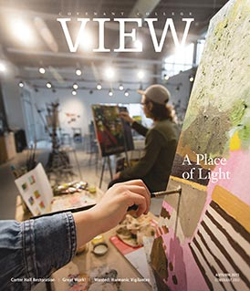 View magazine cover, Autumn 2015 issue