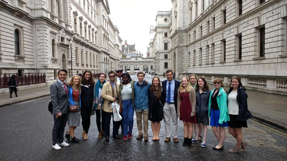 Covenant students in London